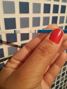 Gravtest Teste de Gravidez Positivo com Linha Forte